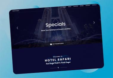 Safari Hotel Website
